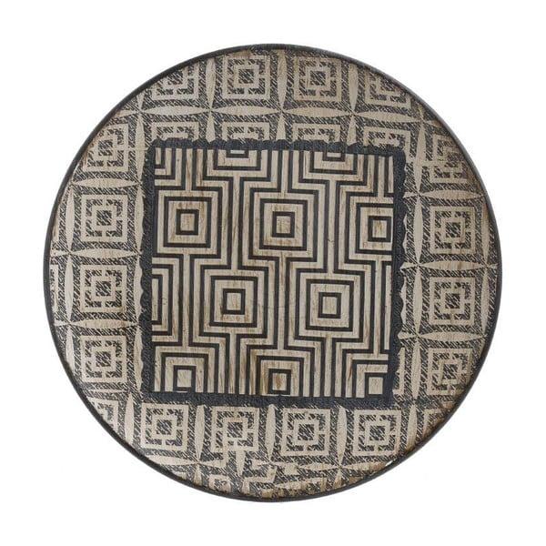 Keramický talíř InArt Nomba, průměr25,5cm