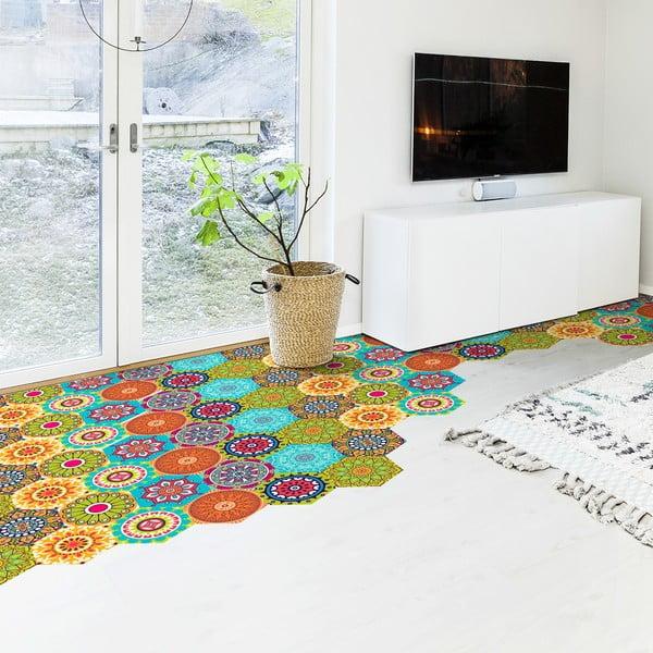 Set 10 autocolante impermeabil pentru podea Ambiance Lisandro