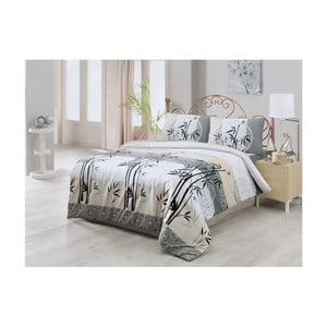 Lenjerie de pat cu cearșaf din bumbac Carl, 200 x 220 cm