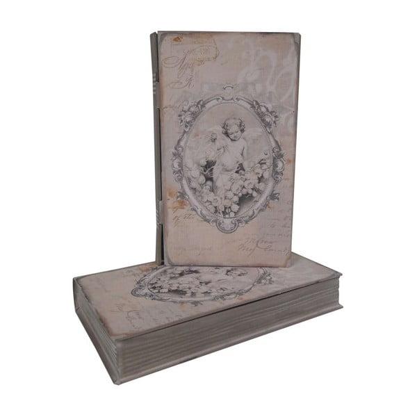 Box Zinc Angel, 13x22x4 cm