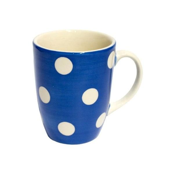 Puntíkatý hrnek French Blue Mug
