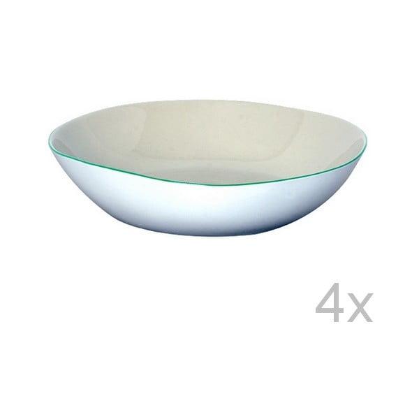 Set hlubokých talířů Funky Rio, 21,5 cm (4 ks)