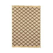 Hnědý koberec Ya Rugs Yildiz, 80x150cm