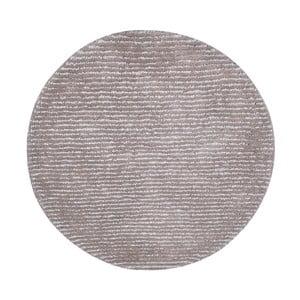 Ručně vyráběný koberec The Rug Republic Modeno Steel, ⌀ 70 cm