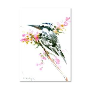 Autorský plakát Kingfisher od Surena Nersisyana, 42x30cm