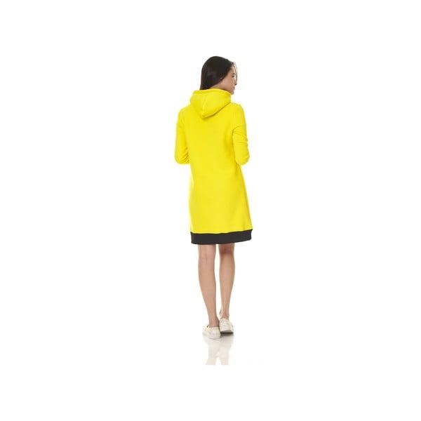 Domácí dlouhá mikina Streetfly Yellow, vel. M