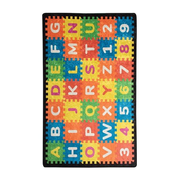 Covor copii Puzzle, 200 x 290 cm