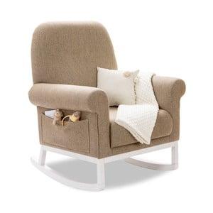 Béžové houpací křeslo Rocking Mother Chair