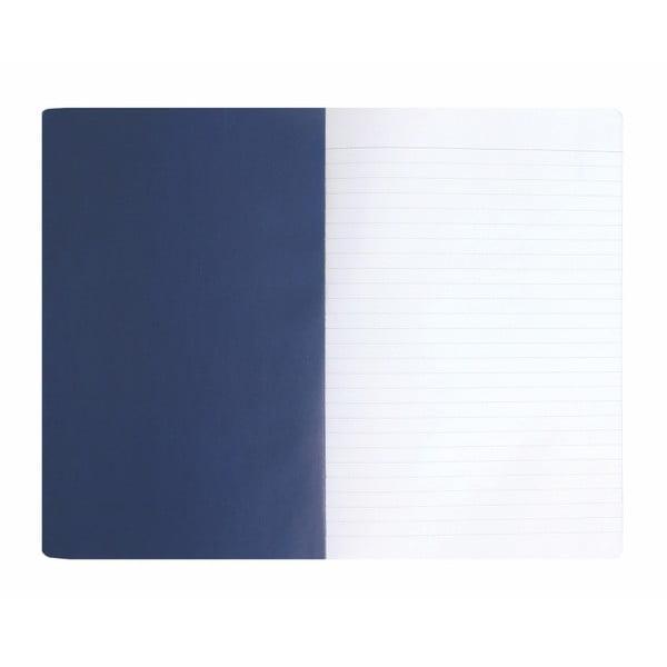 Zápisník A5 Portico Designs Ink Swirls, 160 stránek