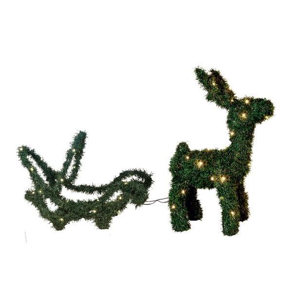 Svítící dekorace Dear Reindeer