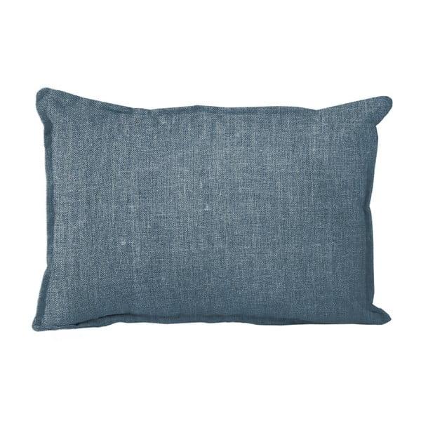 Lino Blue Sky díszpárna, 50 x 35 cm - Linen Couture