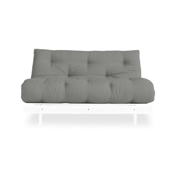 Sofa rozkładana Karup Design Roots White/Grey