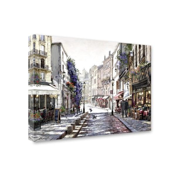 Obraz Styler Canvas Watercolor Paris II, 60 x 80 cm