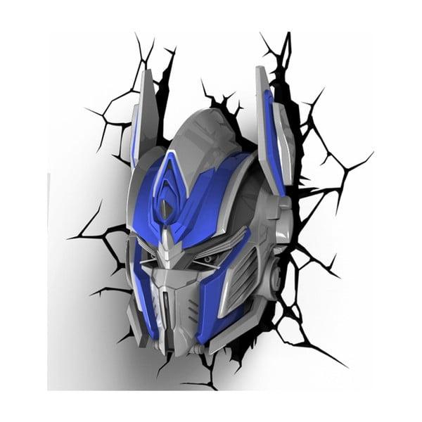 Nástěnné světlo s nálepkou Tnet Transformers Optimus Prime