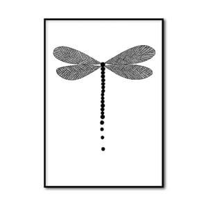 Autorský plakát Dragonfly, A4