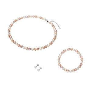Set perlového náhrdelníku s náramkem Nova Pearls Copenhagen Camille