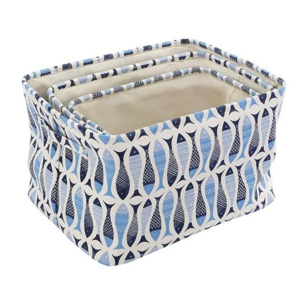 Sada 3 úložných boxů Premier Housewares Pisces