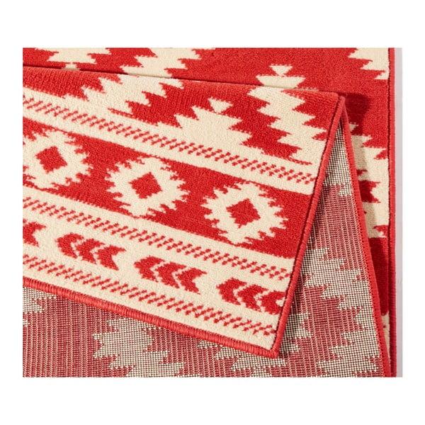 Červený koberec Hanse Home Gloria Ethno, 120 x 170 cm