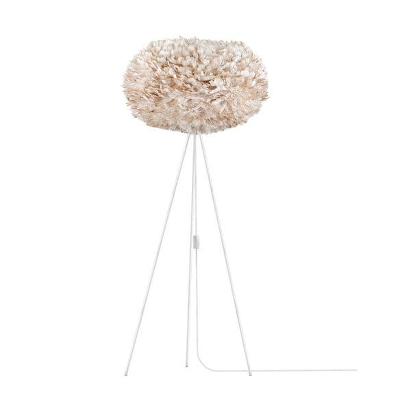 Krémové svítidlo z husího peří VITA Copenhagen EOS, Ø40cm