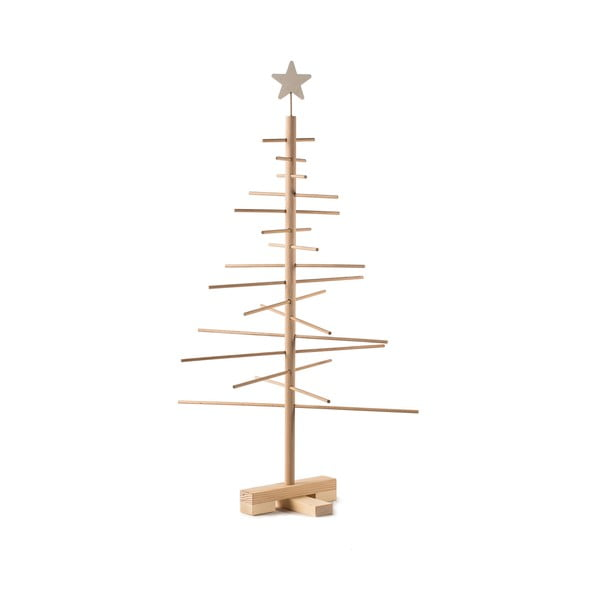 Drewniana choinka Nature Home Xmas Decorative Tree, wys. 75 cm