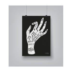 Poster Americanflat Palmistry, 30 x 42 cm