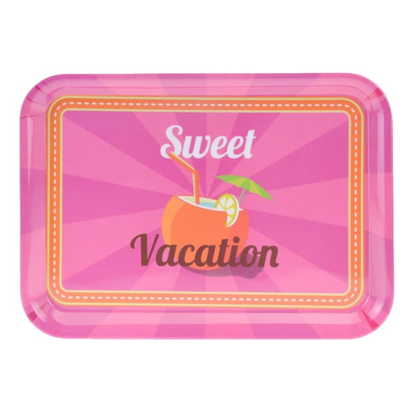3dílná kempinková sada nádobí Postershop Sweet Vacation