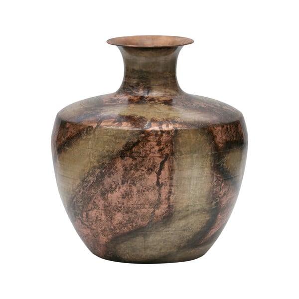 Dekorativní váza z recyklovaného kovu BePureHome, ø30cm