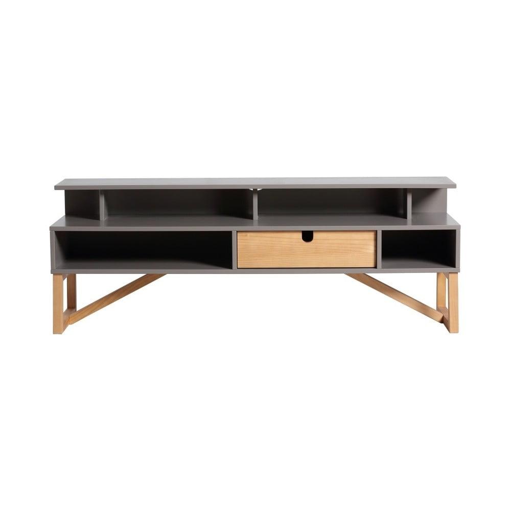 Černý TV stolek Marckeric Galia