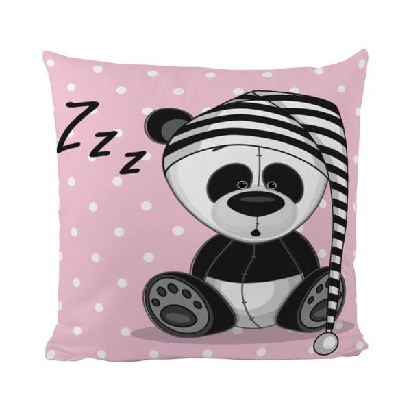 Polštář Sleepy Panda, 50x50 cm