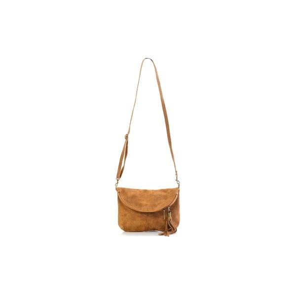 Kožená kabelka Julie, velbloudí