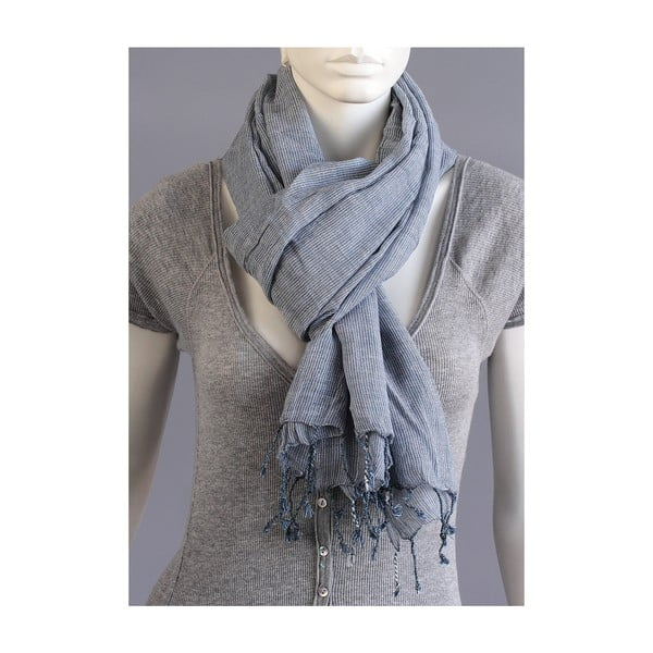 Šátek s modrým proužkem