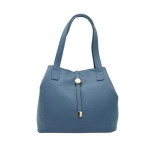 Modrá kabelka z pravé kůže Andrea Cardone Matteo