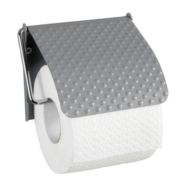 Punto szürke WC-papírtartó rozsdamentes acélból - Wenko