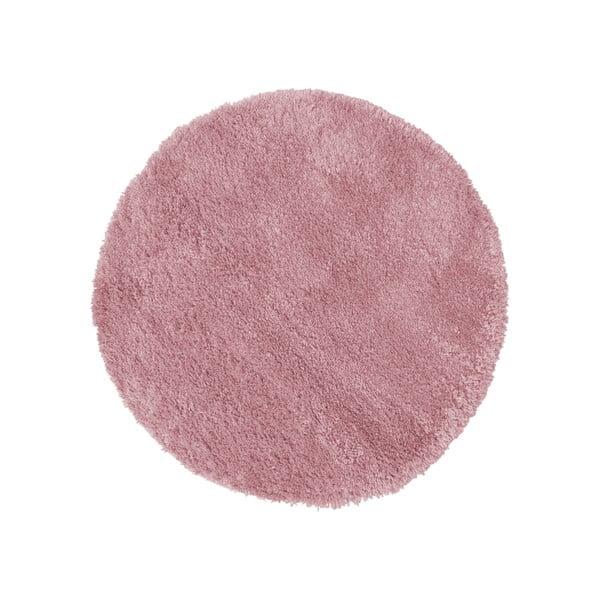 Tmavě růžový koberec Flair Rugs Sparks, ⌀ 133 cm