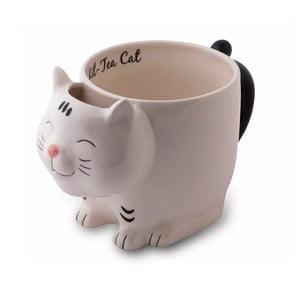 Cană din ceramică în formă de pisică Tri-Coastal Design, 300 ml