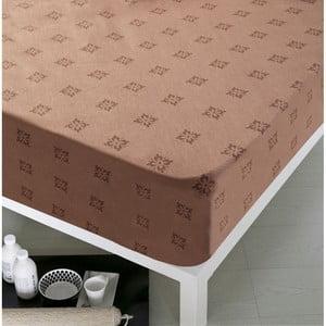Prostěradlo Home Chocolate, 100x200 cm