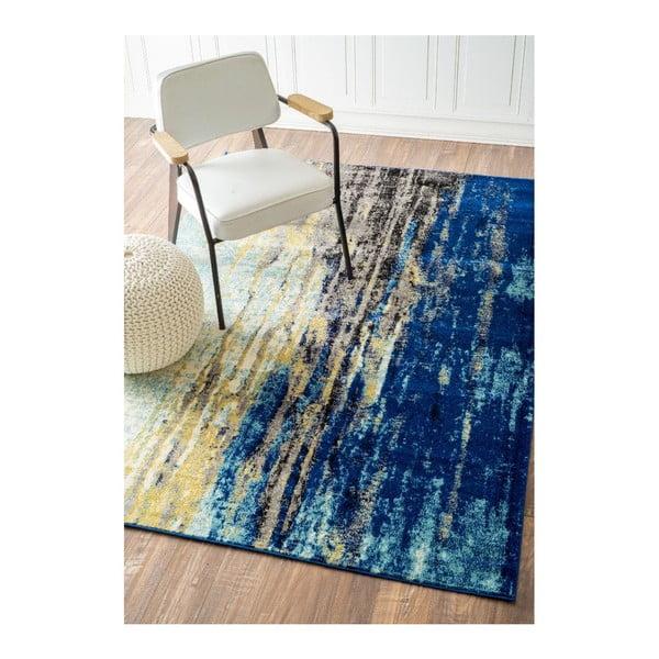 Koberec nuLOOM Ocean Blue, 152x228cm