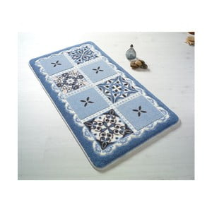Covoraș de baie Confetti Bathmats Ceramic, 57 x 100 cm, albastru