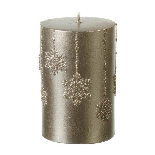Zlatá svíčka Parlane Flakes, 10,5 cm