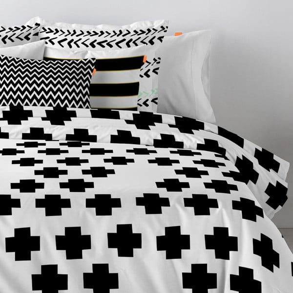Bavlněný povlak na polštář Blanc Forward, 60x60cm