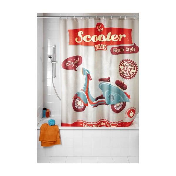 Retro sprchový závěs Wenko Scooter