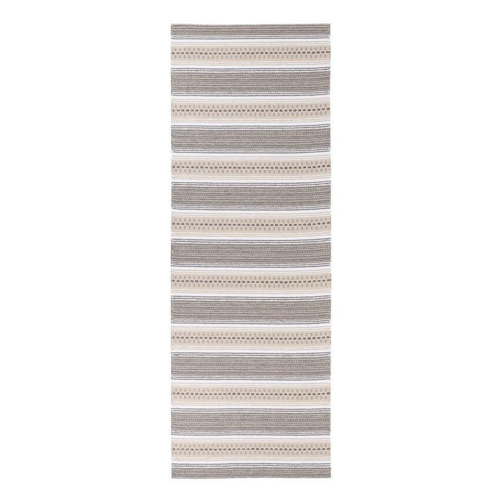 Hnědý koberec vhodný do exteriéru Narma Runo, 70 x 100 cm