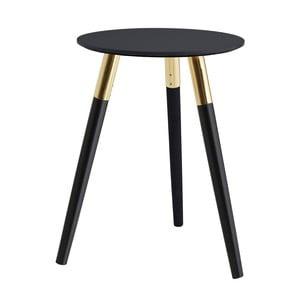 Odkládací stolek s podnožím z kaučukovníkového dřeva Premier Housewares Nostra