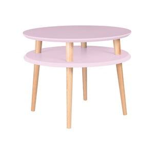 Măsuță de cafea Ragaba UFO Ø 57 cm, roz