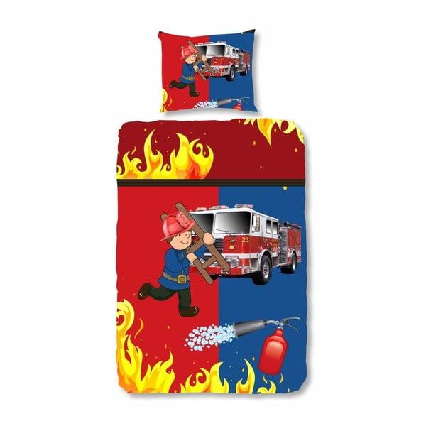 Dětské povlečení Muller Textiel FireFighter, 140x200 cm