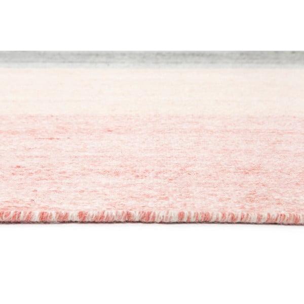 Vlněný koberec Pulvis Pink, 160x230 cm