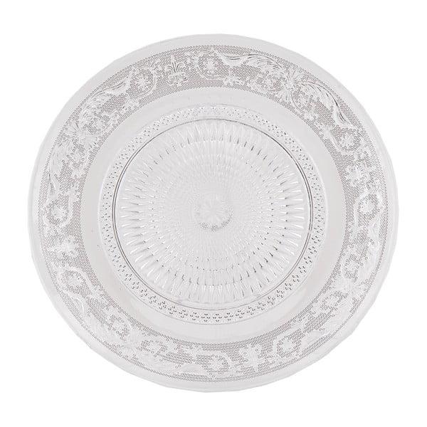 Skleněný talíř Clayre Eef, 23 cm