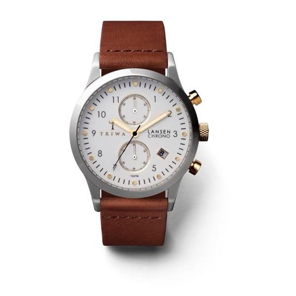 Unisex hodinky s koženým řemínkem Triwa Ivory Lansen