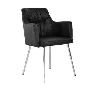 Černá jídelní židle RGE Mars