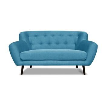 Canapea cu 2 locuri Cosmopolitan desing Hampstead, turcoaz de la Cosmopolitan Design